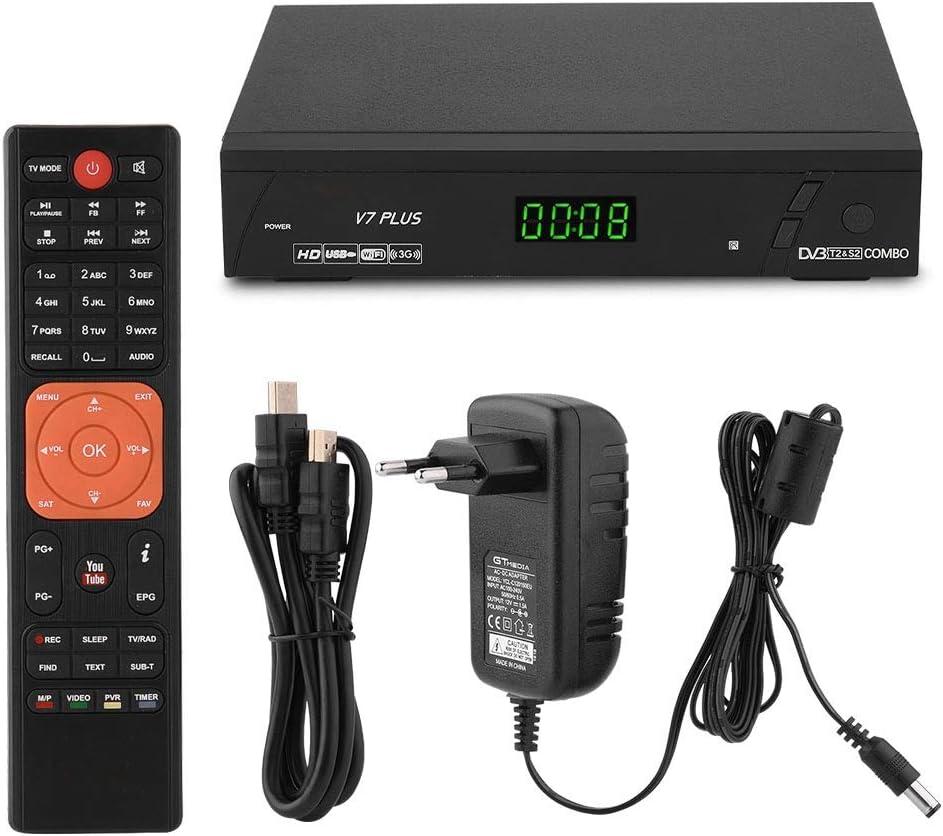 Socobeta Receptor satelital Receptor HDMI SCART HD 1080P DVB ...
