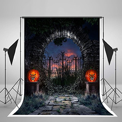 Kate 5x7ft Halloween Photography Background Ghost Horror Photography Backdrop Foldable No Wrinkle]()