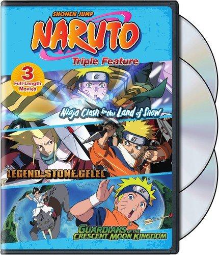Naruto Movies Triple Feature Edizione: Stati Uniti USA DVD ...