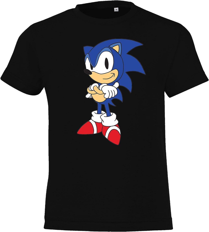 unisex Maglietta per bambini modello Sonic 2 Youth Designz 4-12 anni // In diversi colori taglia: 104-152