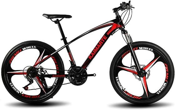 OD-B Bicicleta De Montaña De 24 Pulgadas Bicicleta con Marco De ...