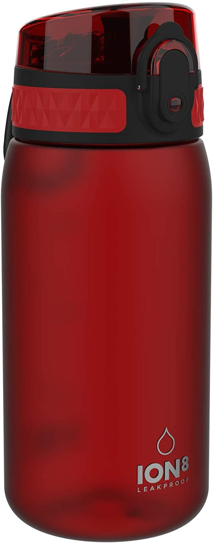 Ion8 Botella Agua Niños Sin Fugas, Sin BPA, 400 ml