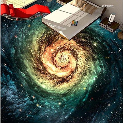 350X260Cm,部屋のリビングルームは,宇宙の星空銀河の幅に応じて霧化されます。Whirlpool 3D Floor Tiles,By ZLJTYN B07F3ZKBTQ 350X260CM
