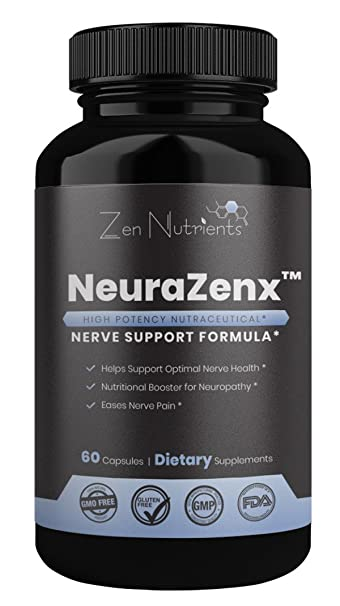 NeuraZenX Nerve Pain Relief Supplement - The Most Comprehensive Daily High  Potency