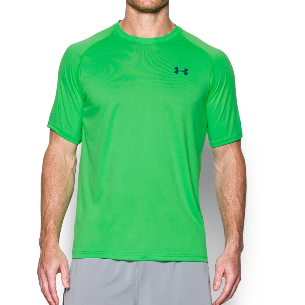 Under Armour Men's Tech Short Sleeve T-Shirt, Northern Lights/Nova Teal, Medium