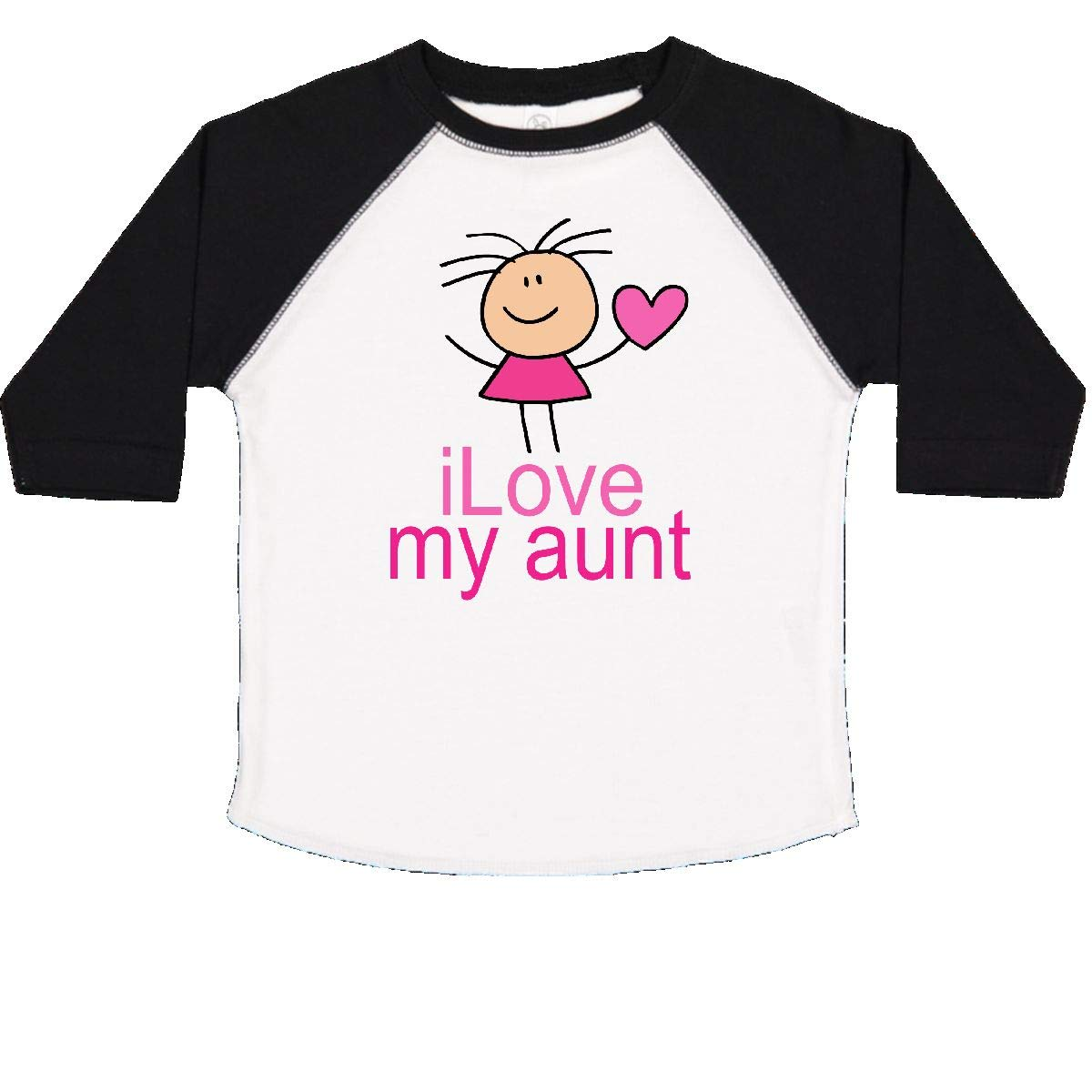 inktastic Pink I Love My Aunt Toddler T-Shirt