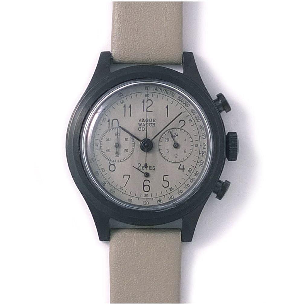 [ヴァーグウォッチカンパニー]VAGUE WATCH Co. 腕時計 2EYES(ツーアイズ) クロノグラフ 2C-L-002 メンズ B00JTWRXNW