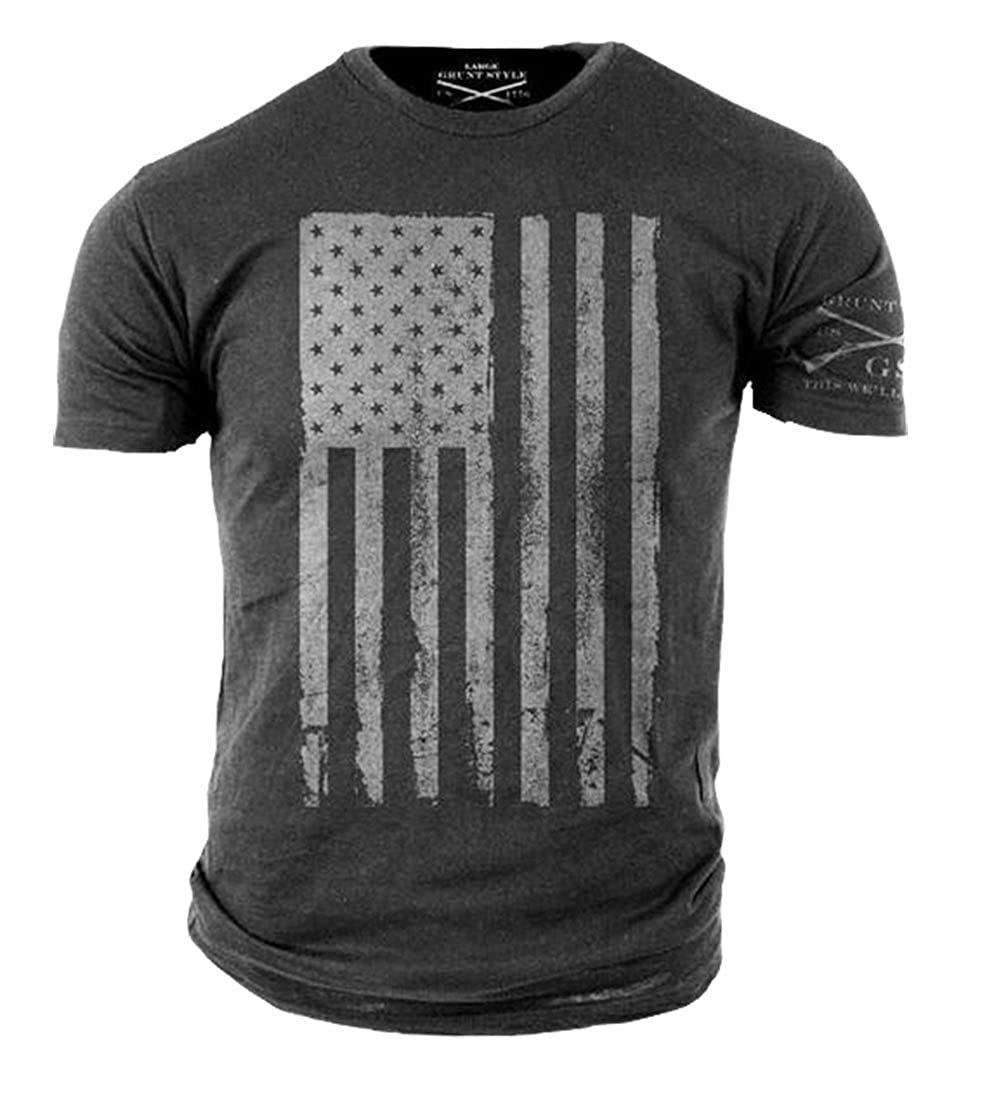 Amazon Grunt Style Mens America T Shirt Clothing