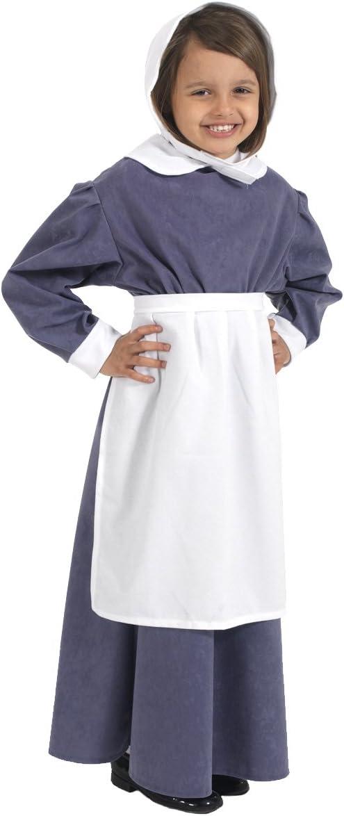 Florence - Disfraz de campesina para niña, talla 128 cm (290256 ...