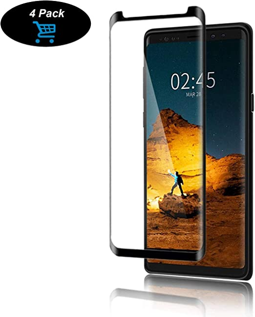 Black Sale Friday Deals Samsung Galaxy Note 9 Screen Protector 4 Pack Tempered Glass Screen Protector Full Screen Coverage Anti Scratch Case Friendly Compatible For Galaxy Note 9 4 Pack Amazon Ca Cell Phones Accessories