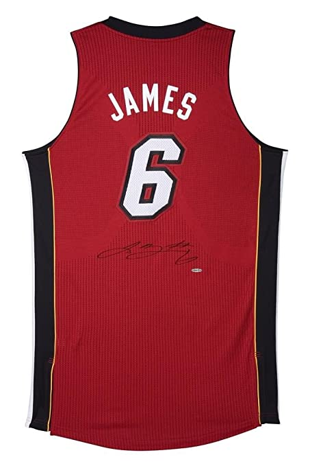 c94a4656e Lebron James Signed Uniform - Upper Deck Certified - Autographed NBA Jerseys