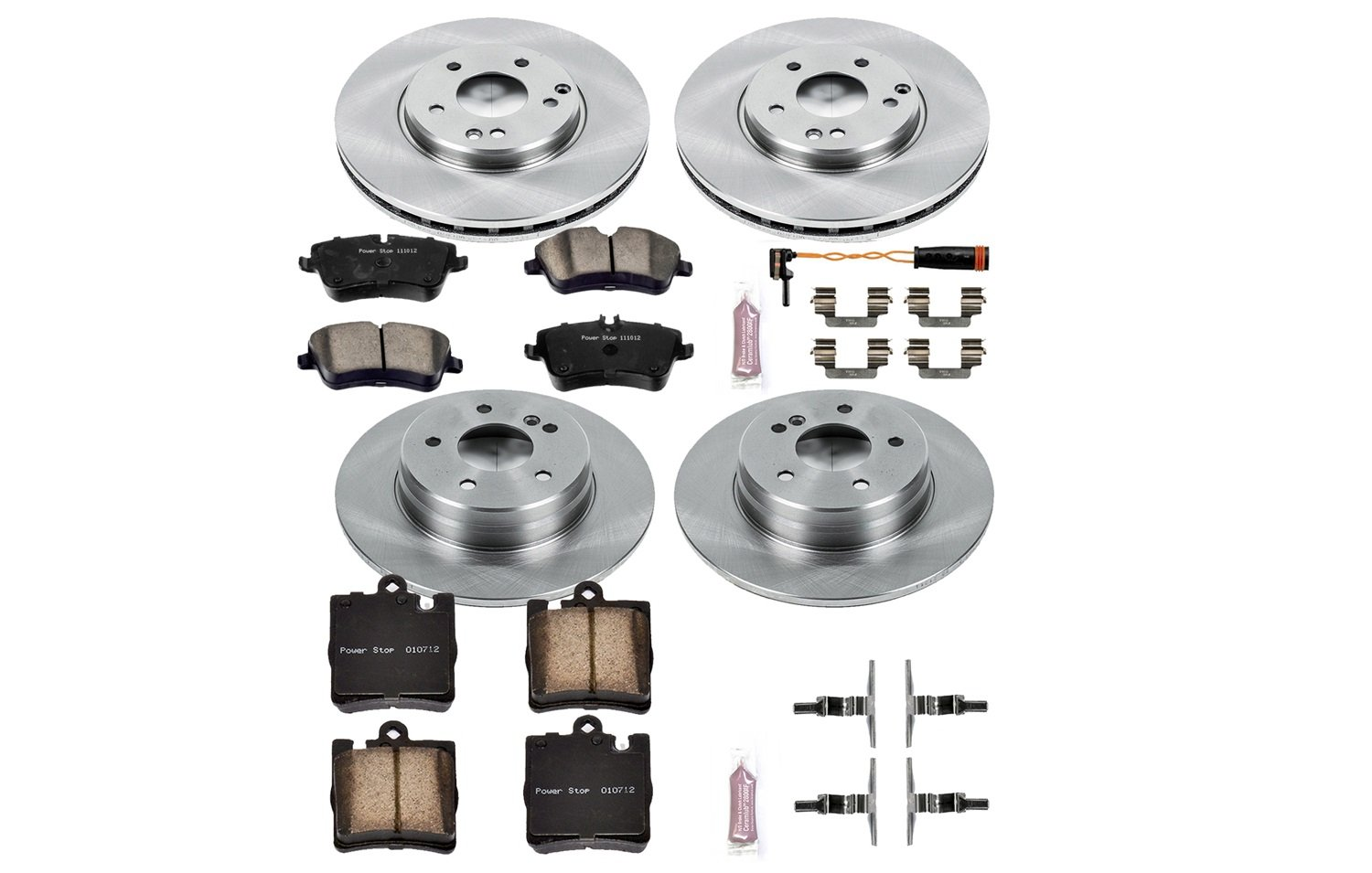 KOE2784 Autospecialty 1-Click OE Replacement Brake Kit