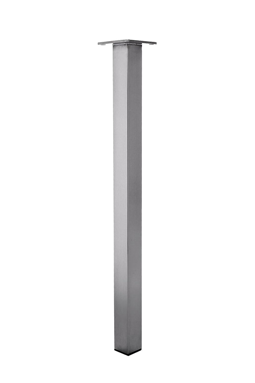 KTC Tec Durante – Pata de Mesa de Acero Inoxidable tb3 Tubo Cuadrado 80 x 80 mm