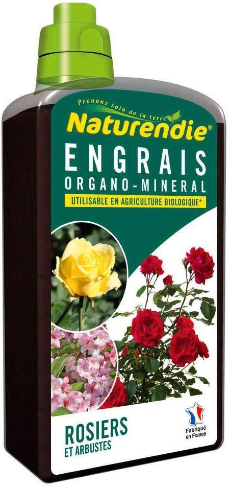 naturendie: fertilizante Rosales: frasco de 1L: Amazon.es: Jardín