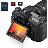 D780 D750 Top + Tempered Glass Screen protector Films Compatible for Nikon D780 D750 Camera (2+2Pack), PCTC 0.3mm 9H Hardness