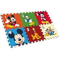 Desconocido Kids- Mickey Alfombra-Puzzle Eva Suelo 90X60 Cm