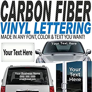 Amazoncom  High By Up To  Long  Custom Vinyl Lettering - Car window decals custom made