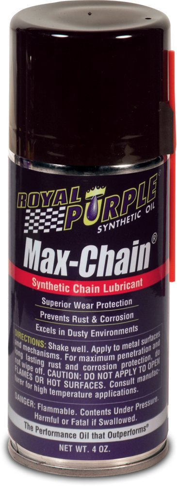 Royal Purple 12407 Max Chain Synthetic Chain Lube - 4 oz. (Case of 12)