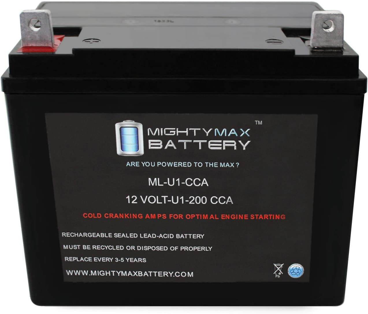 Mighty Max Battery ML-U1 200CCA Battery for John Deere L110 17.5 HP Lawn Tractor//Mower Brand Product