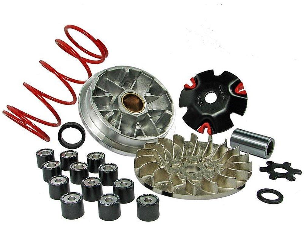 SR50 Netscaper SR50 Racing Minarelli Motor MALOSSI Multivar MHR Variomatik f/ür Aprilia SR50 AC//LC
