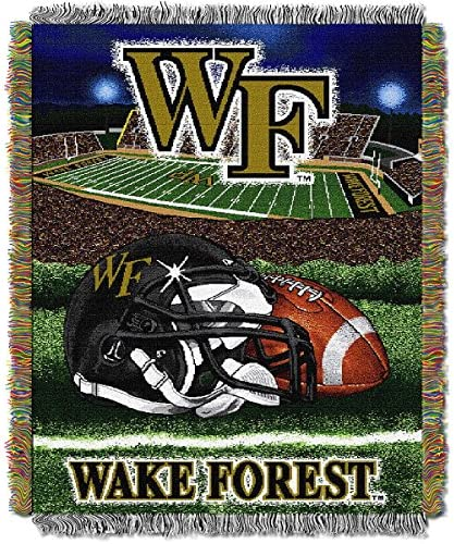 The Northwest会社Wake Forest Demon Deacons Home Field Advantage Woven Tapestry Throw
