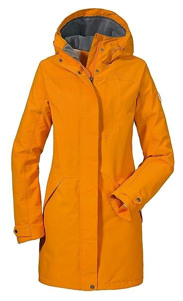 pretty nice c6222 76556 Schöffel Malmö Damen Parka, leichte Damen Jacke für Frühjahr und Sommer,  wasserdichte Sommerjacke für Frauen mit praktischen Taschen