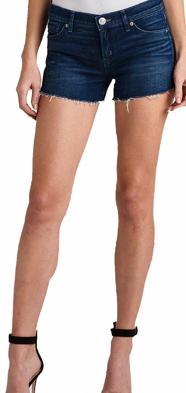 HUDSON Women's Short Kenzie Cut Off Jean Shorts Crazed WR699DWG CRZD (26)