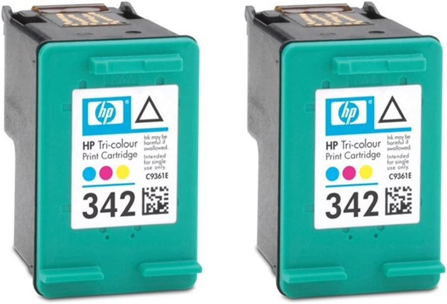 HP 342 Original cartuchos de tinta (Pack de 2) en papel de embalaje Pack of 2: Amazon.es: Informática