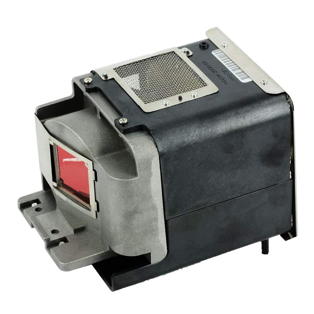 Jmolgoc 交換用 ランプ VLT-XD600LP プロジェクター用ランプユニット フレーム付 きのために適した (汎用)MITSUBISHI FD630U/FD630U-G/WD-620U-G/WD620/WD620U/XD600/XD600U/XD600U-G;GF-780;GX-740/GX-745/GW-760 に組み込み可 B07PHR5SYK