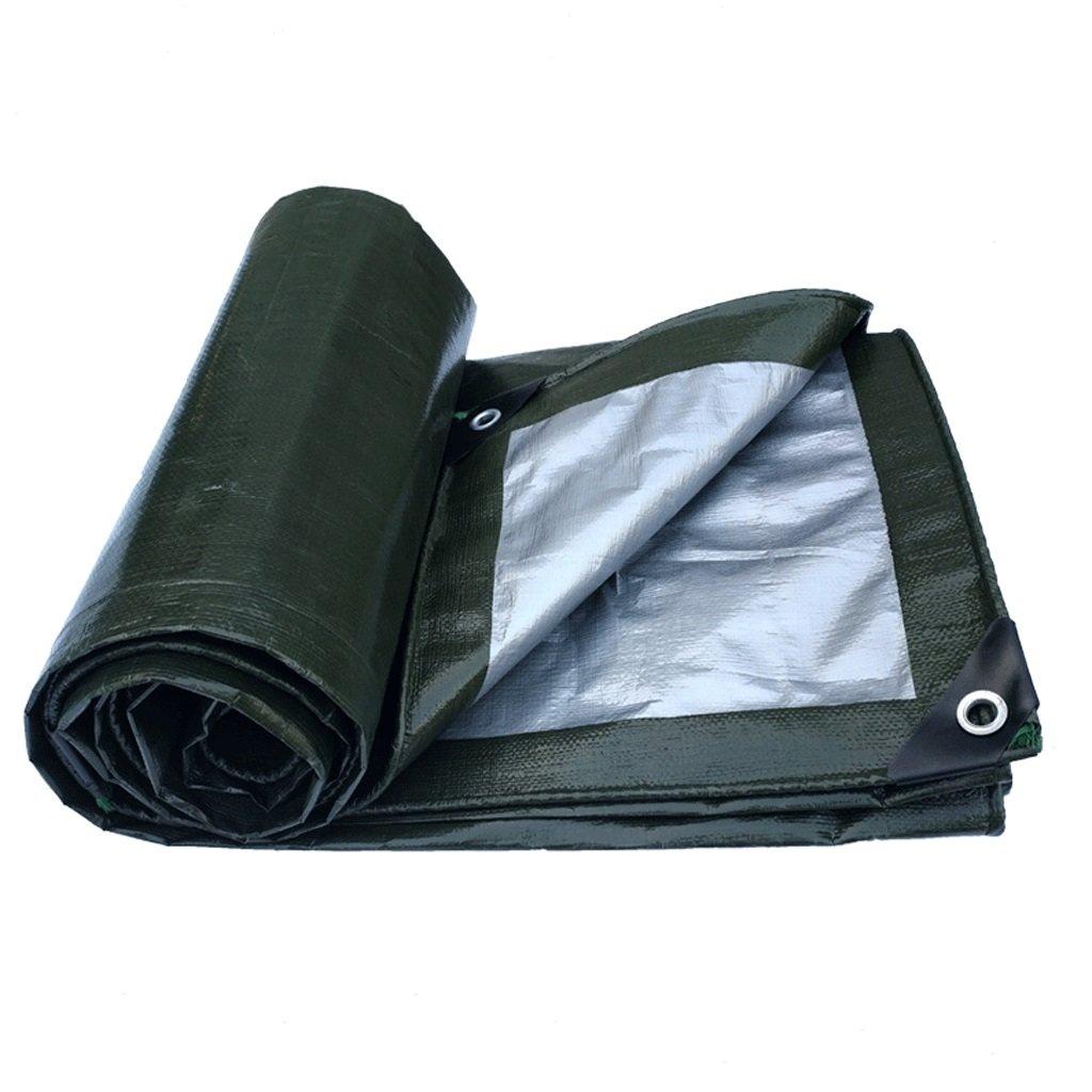 AAA 防水テント屋外観光ピクニックマットカバー布防水日焼け止めアイソレーションガーデンガーデンターポリンオイルクロス (サイズ さいず : 3X4m) B07FX91Q8P 3X4m  3X4m