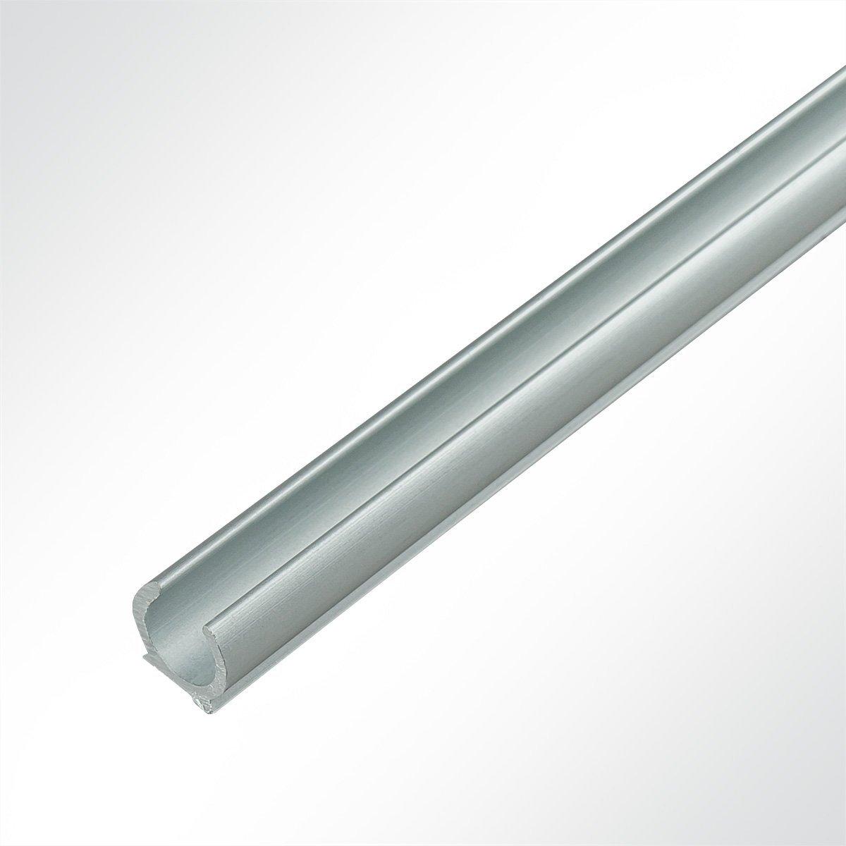 LYSEL® Alu Kederschiene Vorzeltkederschiene eloxiert 13x11.72mm 1 Meter