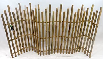 Master Garden Products Bamboo Picket Rolled Fence, ...