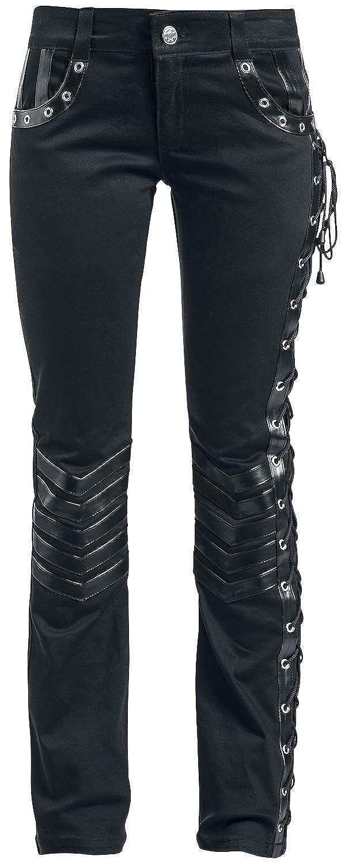 Gothicana by EMP Kim Girl-Hose schwarz Waliant Leather Industries