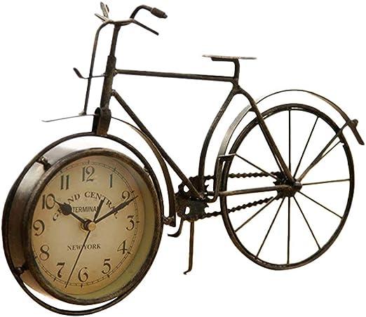 Reloj Vintage Tipo De Bicicleta De Hierro Reloj De Mesa Clásico ...
