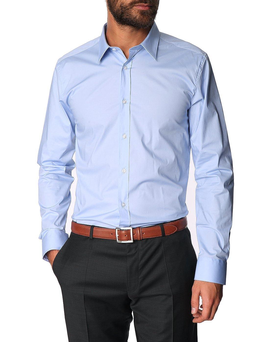 BOSS Hugo Elisha Camiseta Color Azul Claro 459: Amazon.es: Ropa y ...