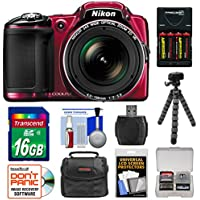 Nikon Coolpix L830 Digital Camera with 16GB Card + Kit (Certified Refurbished) Key Pieces Review Image