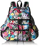 LeSportsac Women's Classic Medium Voyager Backpack, Sunlight Floral