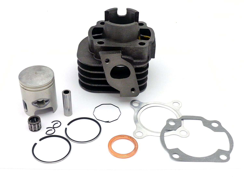 Cylinder Kit 50cc 2 Stroke 10mm Piston Pin Yamaha JOG clones Minarelli 1E40QMB Engines (0108) MMG MGMO0108_10mm