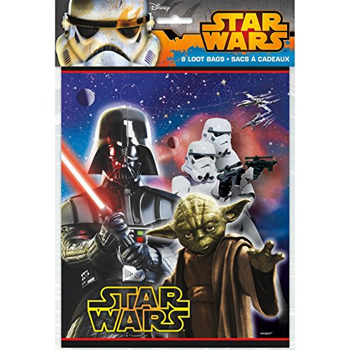 Disneys Star Wars - Loot Bags 8 Ct ()