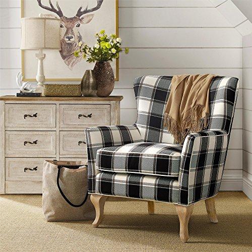 Amazon Com Dorel Living Middlebury Checkered Pattern