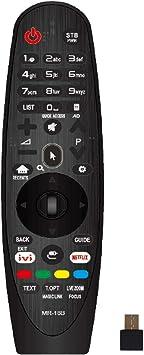 IHANDYTEC MR-18B LG - Mando a distancia de repuesto para todos televisores LG inteligentes (LED, LCD, plasma), color negro: Amazon.es: Electrónica