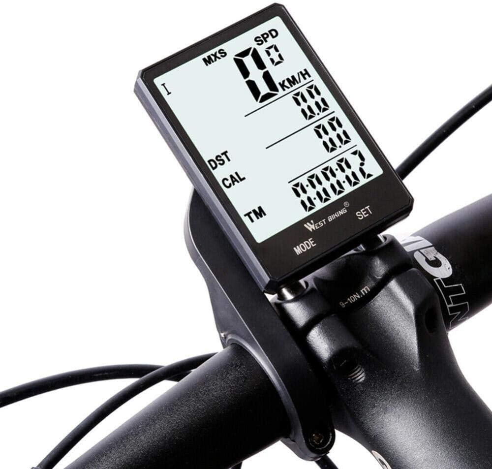 Bicycle Computer Cycling Wired Waterproof Stopwatch MTB Road Bike Speedometer BL