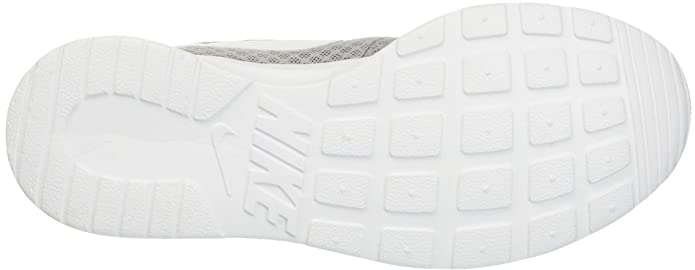 Amazon.com | Nike Womens Tanjun Running Sneaker Wolf Grey/White 6 | Fashion Sneakers