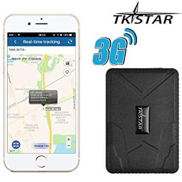 Amazon.com: TKSTAR - Rastreador GPS 3G, dispositivo de ...