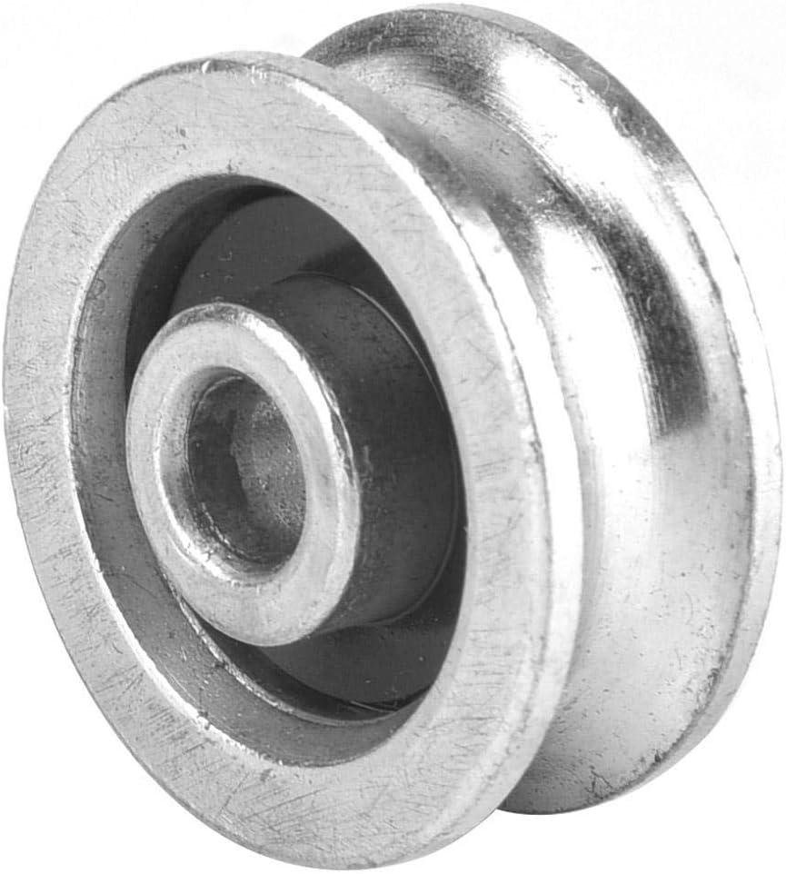 Wosume Guide de Levage de c/âble m/étallique de Roue de roulement de Haute r/ésistance pour Le Chargement de c/âble m/étallique de c/âble de poulie 56mm