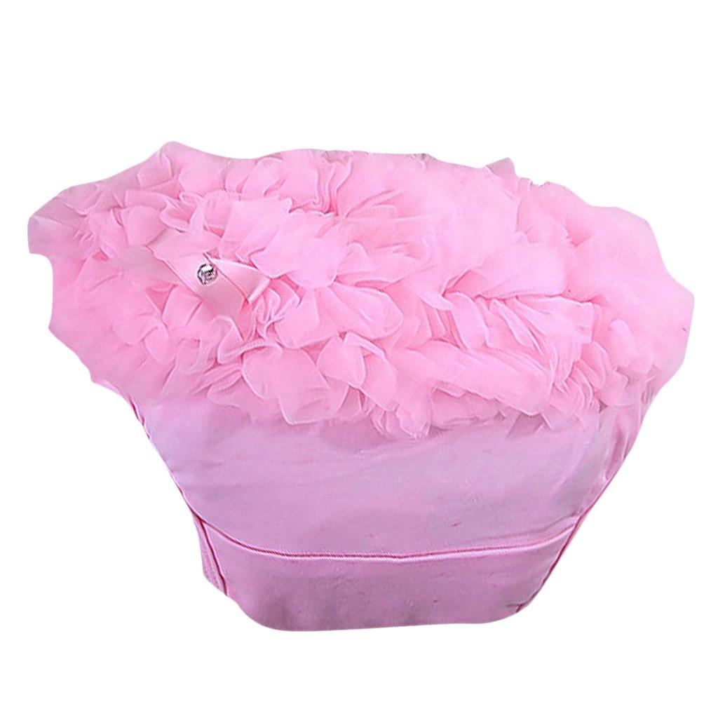a02b1c035547 Pink Baby Girl Ruffle Panties Bloomers Diaper Cover S  Amazon.co.uk ...