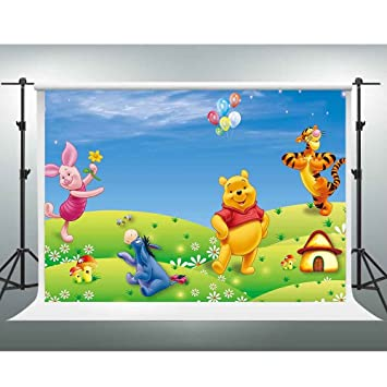 GESEN PGE283 - Fondo de Dibujo de Winnie The Pooh de Disney, para ...