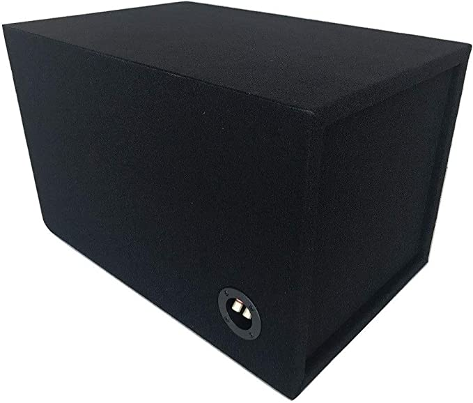 1.5 CF NET 35Hz 4 Aeroport Ported Sub Enclosure Box for a 12 ALPINE TYPE R Subwoofer