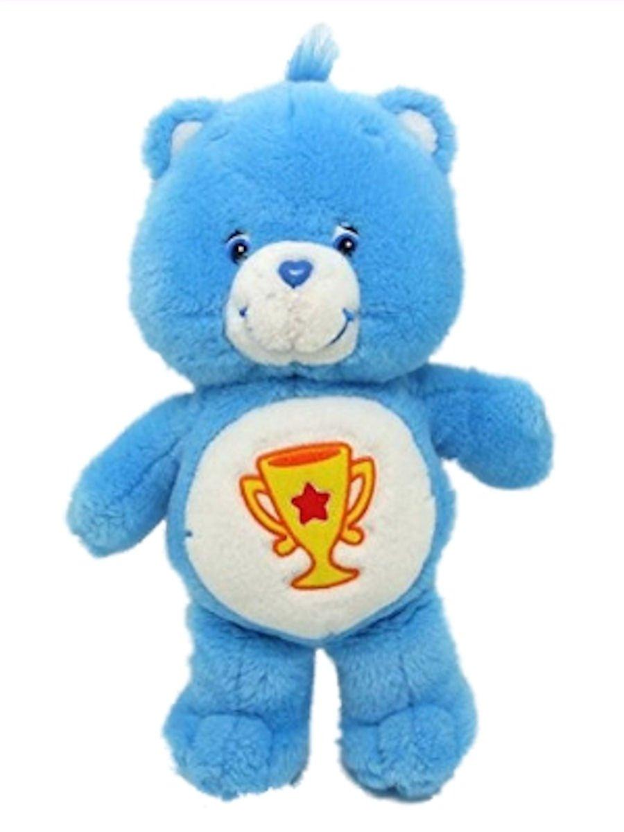 Champ Bear 9 Plush Care Bear Blue Carebears by Just Play