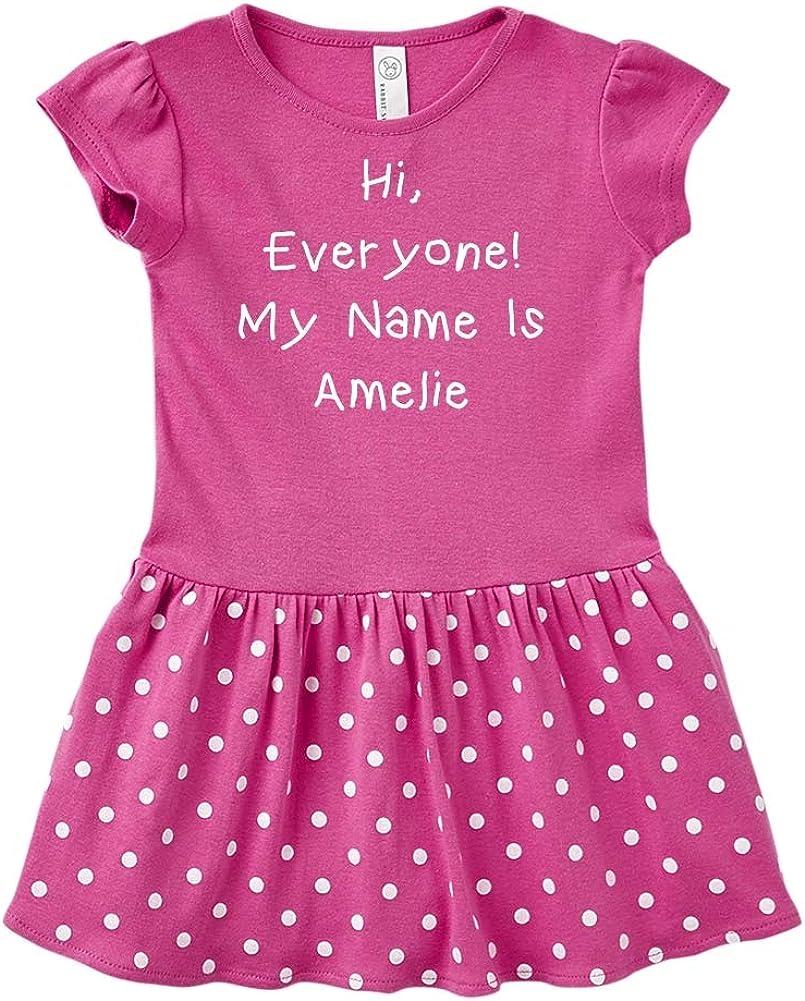 Mashed Clothing Hi Everyone Personalized Name Toddler//Kids Sweatshirt My Name is Alexander